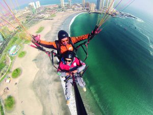 Paragliding and aerial sports